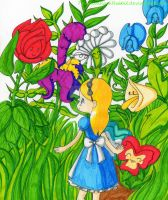 Alice Project: What kind of flower are YOU? by PrincessBlackRabbit