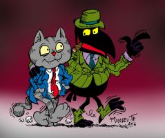 Fritz the Cat by ANDREU-T