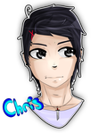 Christopher (Son REALES?! OC) by ShinnaRyusaki