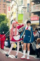 Ikebukuro hellowen parade by neko-tin