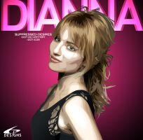 Dianna Agron Birthday Vector by suppressed-desires