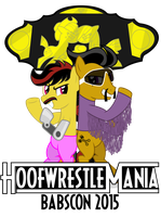 Babscon Hoffwrestlemania Teaser Image by masemj