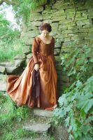 Brown victorian gown by Abigial709b
