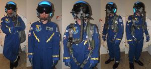 Realistic Wonderbolts Flight Suit Costume by Spaceguy5
