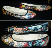 Cap Shoes! by lyandar