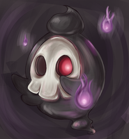 Duskull by RequestFag