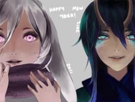 Happy New Year by J00se