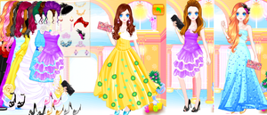 Glamour Party Girl Game by willbeyou
