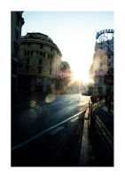 The Sun Shines in Rome by thundermistress