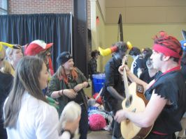 Sing along with the Con Bard by AnaxErik4ever