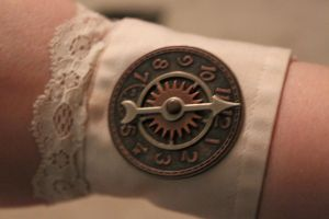 Clockworker Wrist Cuffs CU 2 by AirshipPirateDaylina