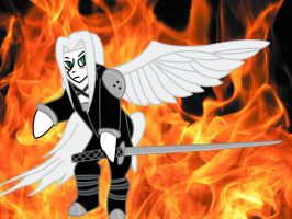 Sephiroth is Magic by Silfe