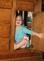 in the cupboard by sunshinegypsy