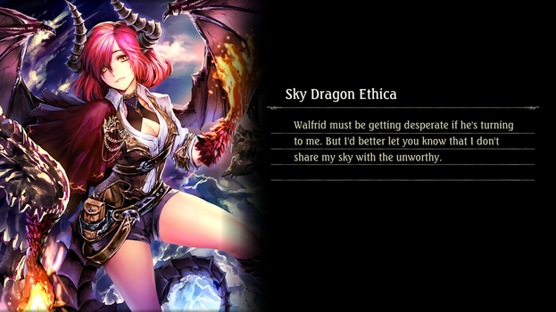 Shadowverse - Sky Dragon Ethica by Vayne1510