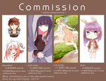 Commission Sheet //// /// by kanoko27