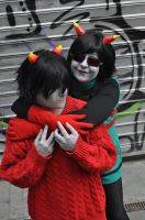 Kankri and Latula - Homestuck by Megumi-Nightwack