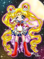.:chibi sailor moon:. by luzhikaru