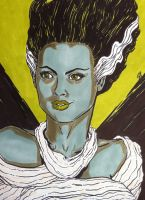 Bride of Frankenstein by seanpatrick76