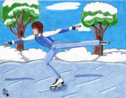 Ice Skating by Lily-de-Wakabayashi