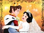 Snow White and her prince by rebenke