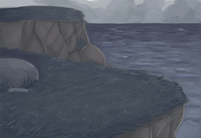 scenery practice?? by karcharos