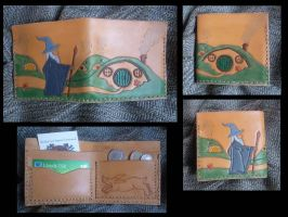 Hobbit Leather Wallet by emma-hobbit