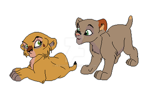 Cubs for Lionponyharvestking by petshop101