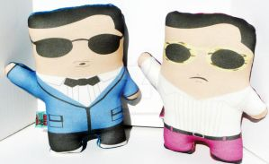 Oppa Plushie Style by Cyber-Scribe-Screens