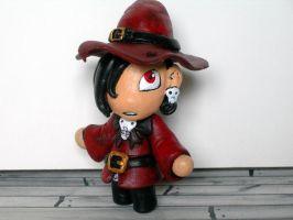 mini red witch by Hasaniwalker