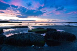 Whitley Bay Sunset 3 by svendo