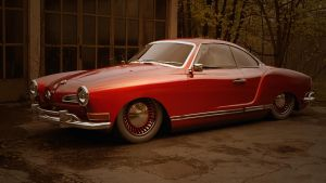 VW Karmann Ghia by BlackLizard1971