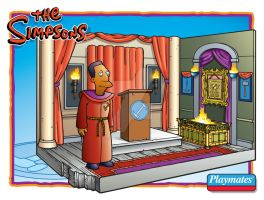 Stone Cutters Hall Playset by toymaker-cl