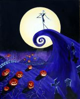 The Nightmare Before Christmas by minorr