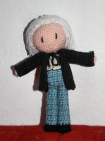 Crocheted First Doctor (updated) by gnasler