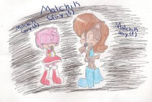 Amy and Sally singing Malchik Gay by Caramell-Nekagi