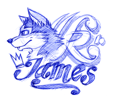 James by wolf-lion