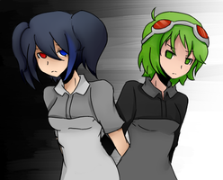 Ruko and Gumi: Mosaik Role by Gumi-Has-A-KARROT