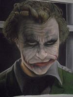 The Joker - heath ledger by chaskillz
