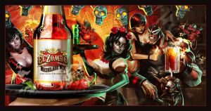 El Zombo Michelada Mix cover by Dave-Wilkins