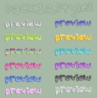 Pack12styles by demsloppez