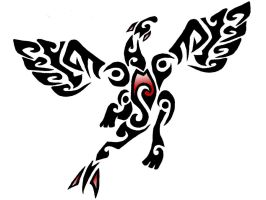 Tribal Lugia by PorridgeBeast