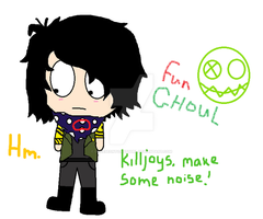 Frank Iero Fun Ghoul by CheeseOnToastGurl
