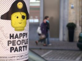 Happy People Party by bloodpudding