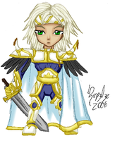 Cecil - FFIV - SD - Color by UltimeciaFFB