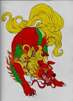 Foo Dog: The Protector by LJ-Todd