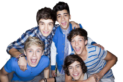 One Direction PNG by MelinaBelieber