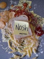 Nosh - cover redesign by xchingx