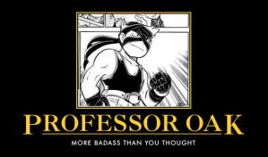 Professor Oak Demotivational by DarkKnight0001