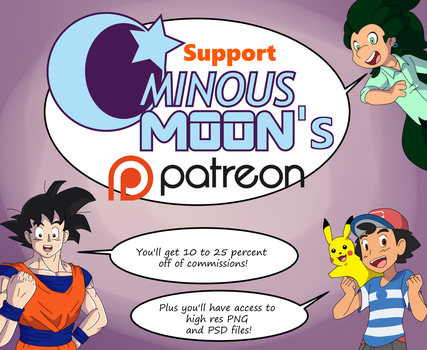 Support me on Patreon! by OminousMoon