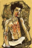 Sid Vicious by DenisM79